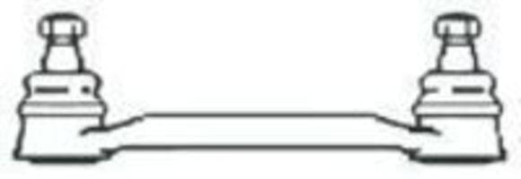 Поперечная рулевая тяга FRAP 107
