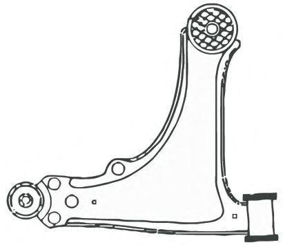 Рычаг подвески FRAP 1622