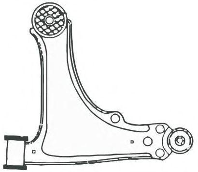 Рычаг подвески FRAP 1623
