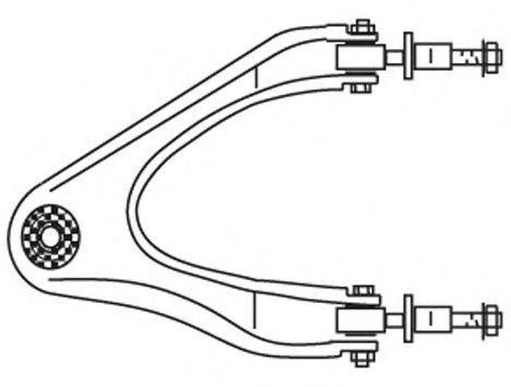 Рычаг подвески FRAP 2062