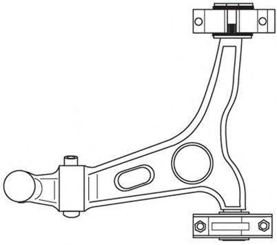 Рычаг независимой подвески колеса, подвеска колеса FRAP 4813