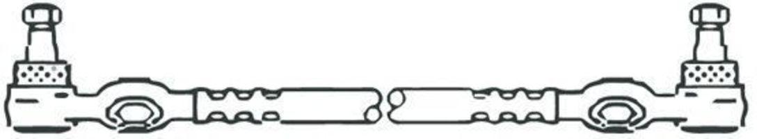 Поперечная рулевая тяга FRAP 219