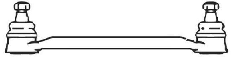 Поперечная рулевая тяга FRAP 221