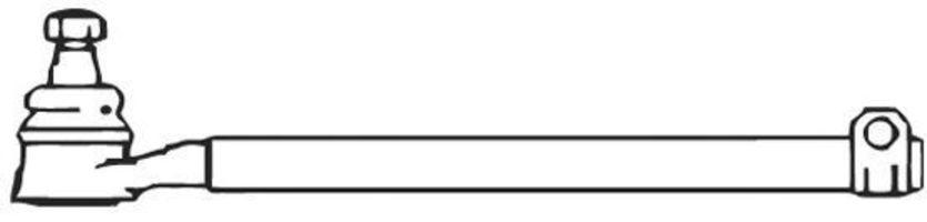 Поперечная рулевая тяга FRAP 222