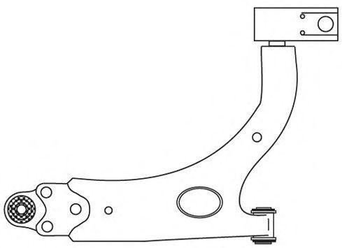 Рычаг подвески FRAP 2720