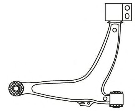 Рычаг подвески FRAP 2738