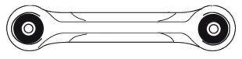 Рычаг подвески FRAP 2869