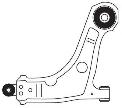 Рычаг подвески FRAP 3351