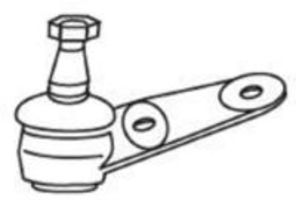 Опора шаровая FRAP 3357