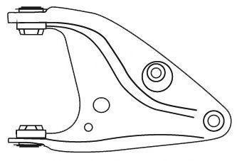 Рычаг подвески FRAP 3710