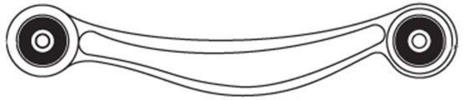 Рычаг подвески FRAP 3825