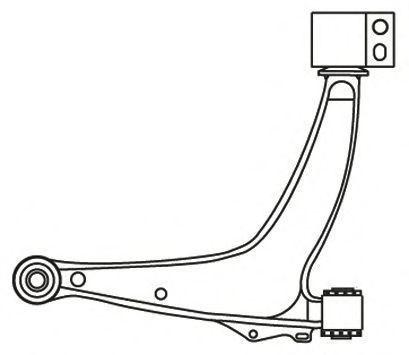 Рычаг подвески FRAP 4113