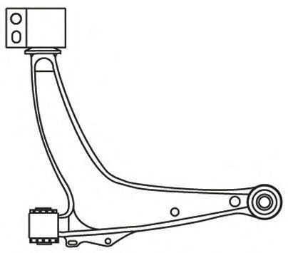 Рычаг подвески FRAP 4114