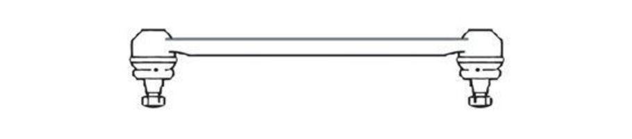 Поперечная рулевая тяга FRAP 591