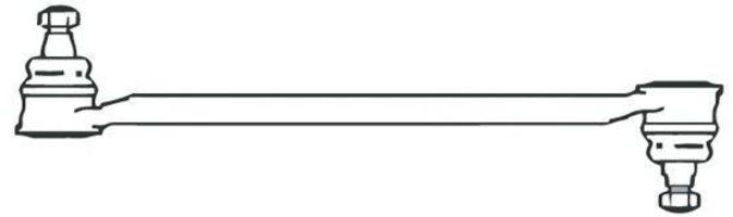 Поперечная рулевая тяга FRAP 69