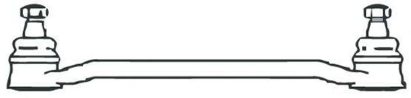 Поперечная рулевая тяга FRAP 70