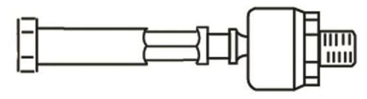 Осевой шарнир, рулевая тяга FRAP 977