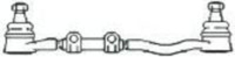 Поперечная рулевая тяга FRAP T128