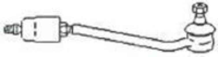 Поперечная рулевая тяга FRAP T139