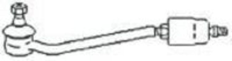 Поперечная рулевая тяга FRAP T140