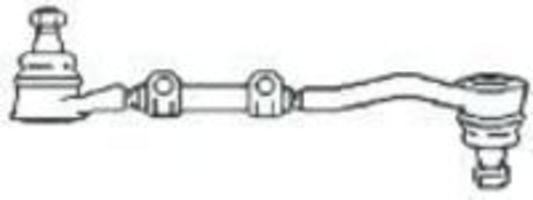 Поперечная рулевая тяга FRAP T20