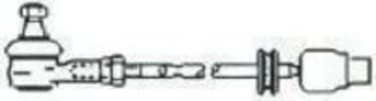 Поперечная рулевая тяга FRAP T233