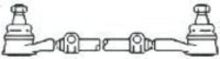 Поперечная рулевая тяга FRAP T25