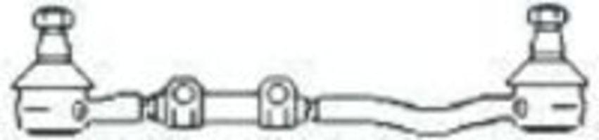 Поперечная рулевая тяга FRAP T26