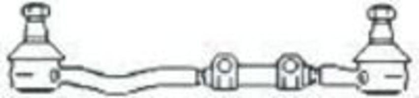 Поперечная рулевая тяга FRAP T27