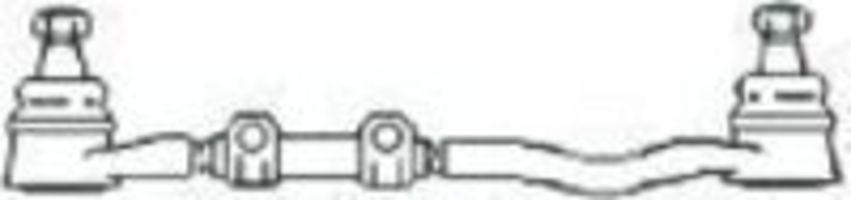 Поперечная рулевая тяга FRAP T28