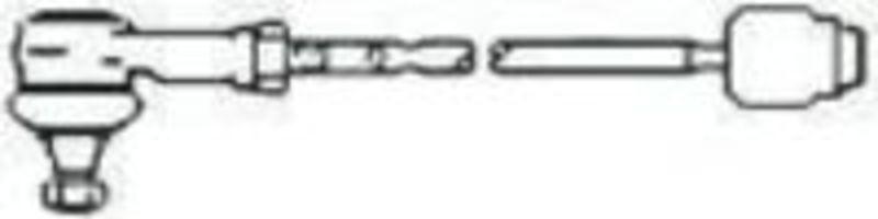 Поперечная рулевая тяга FRAP T291