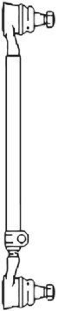 Поперечная рулевая тяга FRAP T41