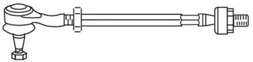 Поперечная рулевая тяга FRAP T428