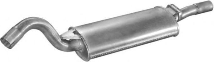 Глушник задній POLMOSTROW 0105