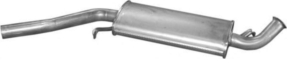 Глушитель средний POLMOSTROW 0126