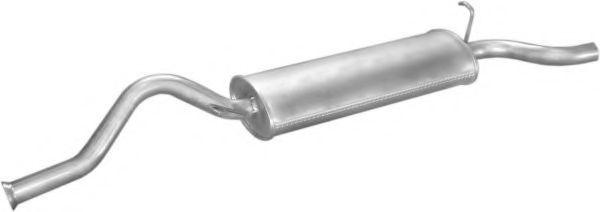 Глушитель задний POLMOSTROW 1161