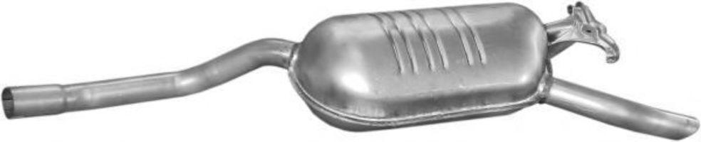 Глушитель конечный POLMOSTROW 1305