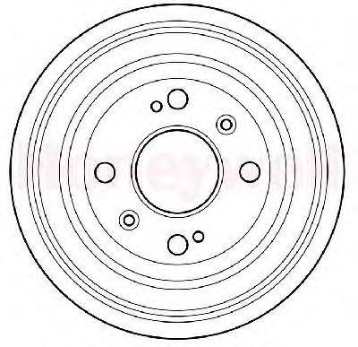 Тормозной барабан BENDIX 329071B