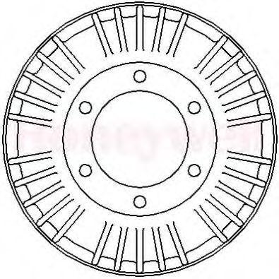 Тормозной барабан BENDIX 329120B