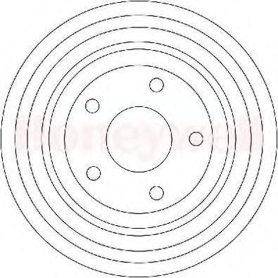 Тормозной барабан BENDIX 329181B