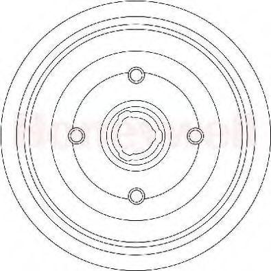 Тормозной барабан BENDIX 329239B