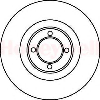 Тормозной диск BENDIX 561017B
