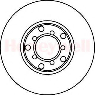 Тормозной диск BENDIX 561021B