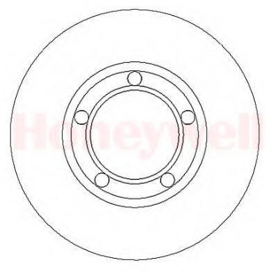 Тормозной диск BENDIX 561067B
