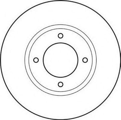 Тормозной диск BENDIX 561003B