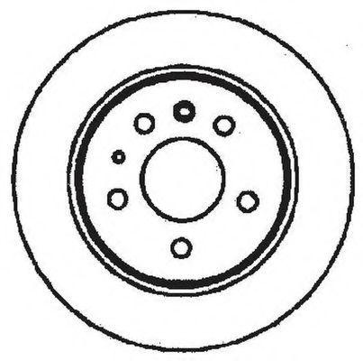 Тормозной диск BENDIX 561344B