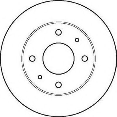 Тормозной диск BENDIX 561861B