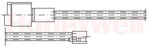 Сигнализатор, износ тормозных колодок BENDIX 581302