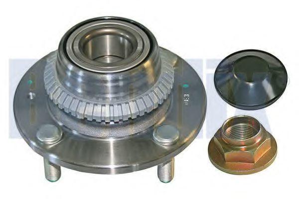 Комплект подшипника ступицы колеса BENDIX 050873B