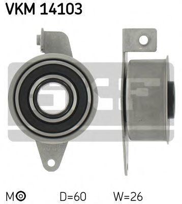 Ролик натяжителя ремня SKF VKM14103